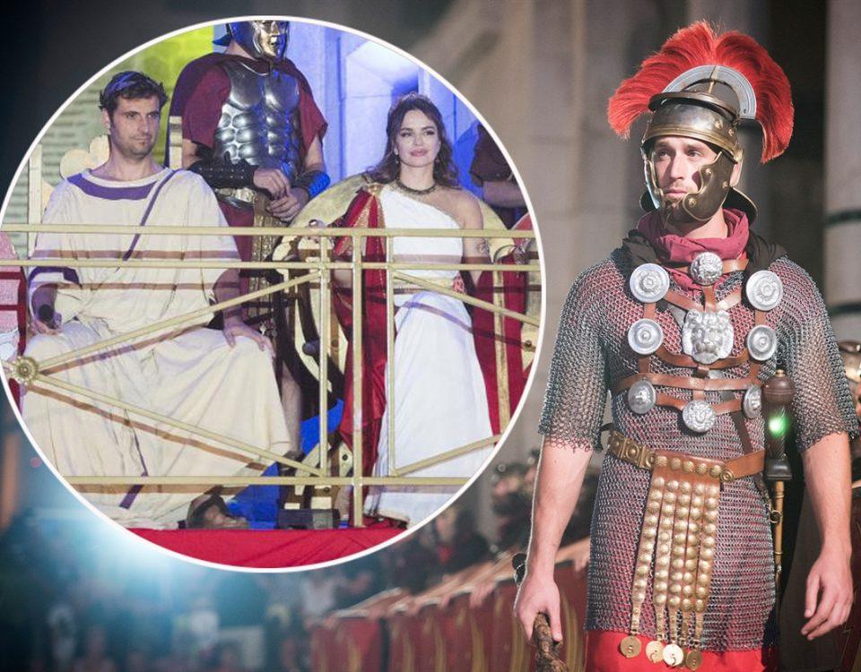 Na Severininu zapovijed isklesani gladijatori jurnuli su u smrt!